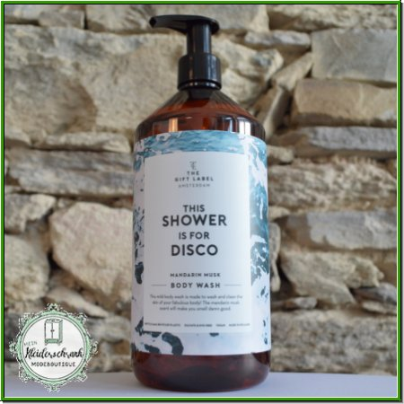 Body Wash- THE SHOWER IS FOR DISCO